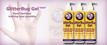 GlitterBug Gel Hand Sanitiser training now possible